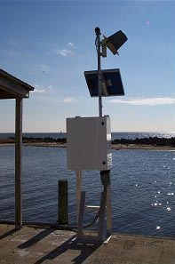 sea level study water level station picture