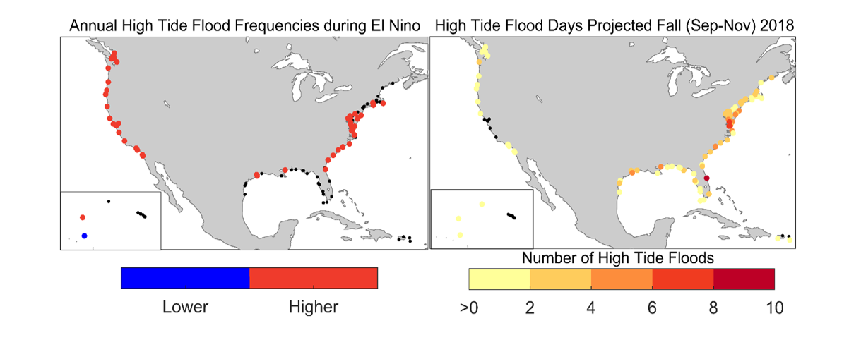 Fall 2018 and the influence of El Niño