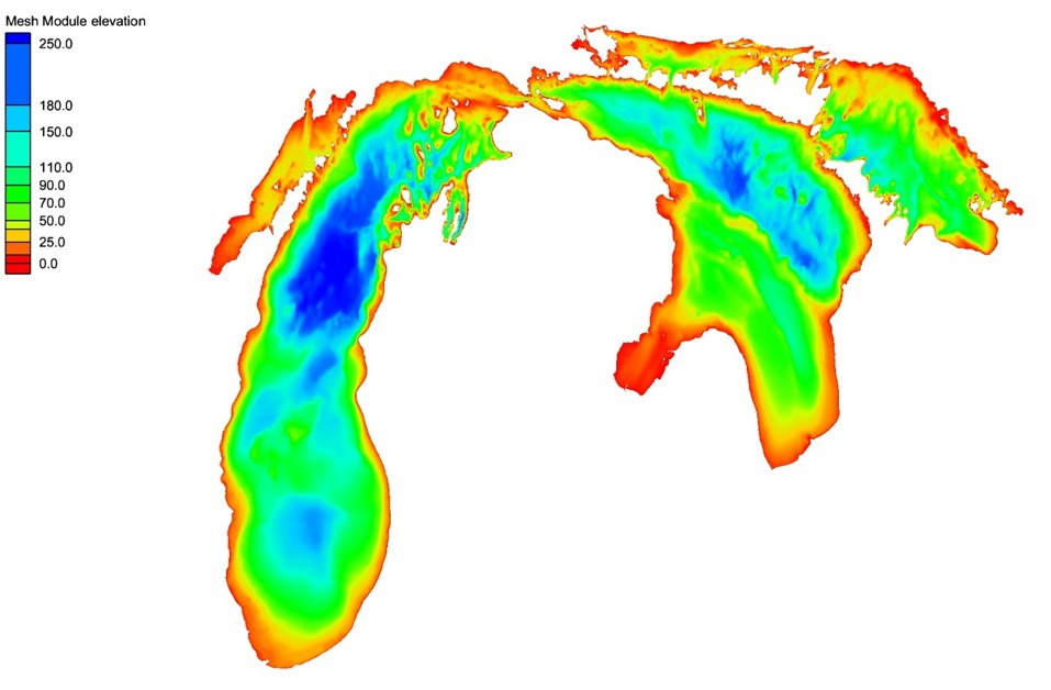 LMHOFS Model Bathymetry image