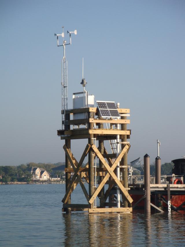Photo of station #8720218, Mayport (Bar Pilots Dock), FL