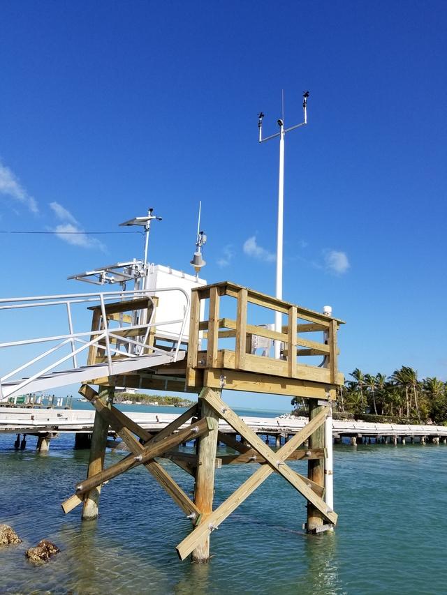 Photo of station #8723970, Vaca Key, Florida Bay, FL