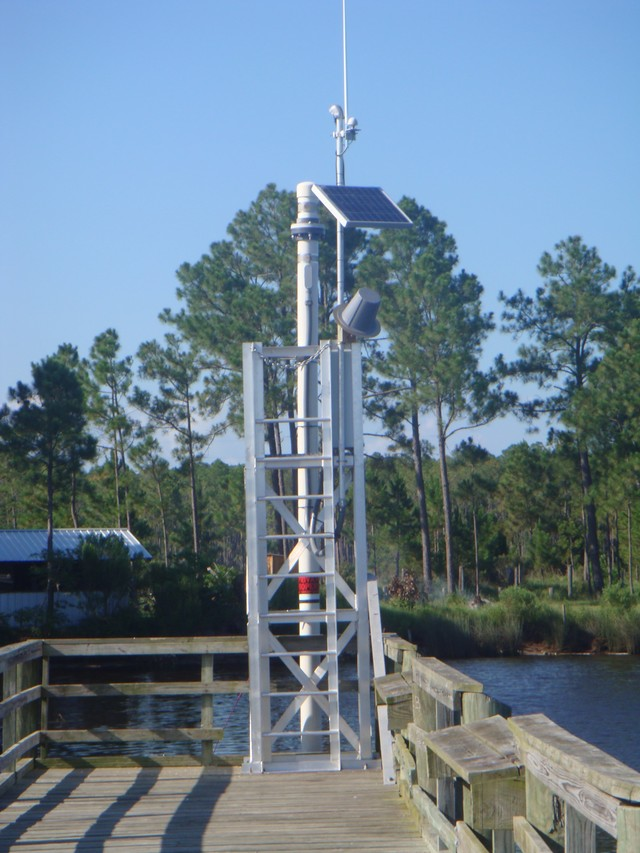 Photo of station #8740166, Grand Bay NERR, Mississippi Sound, MS