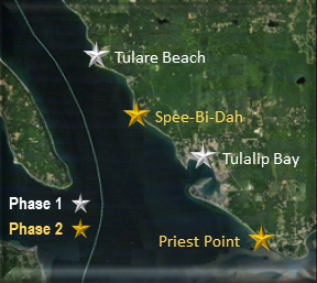 Map of tulalip